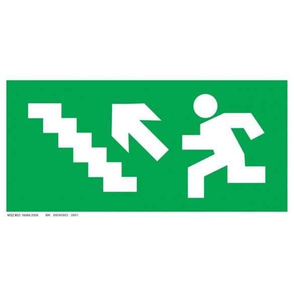 Menekülési út - balra fel lépcsőn