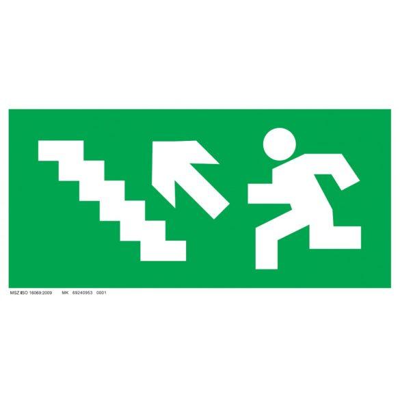 UV Menekülési út - balra fel lépcsőn