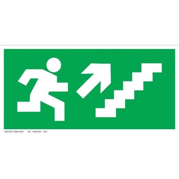 UV Menekülési út - jobbra fel lépcsőn