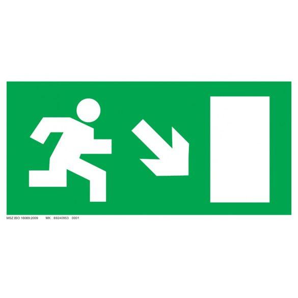 Menekülési út - jobbra le