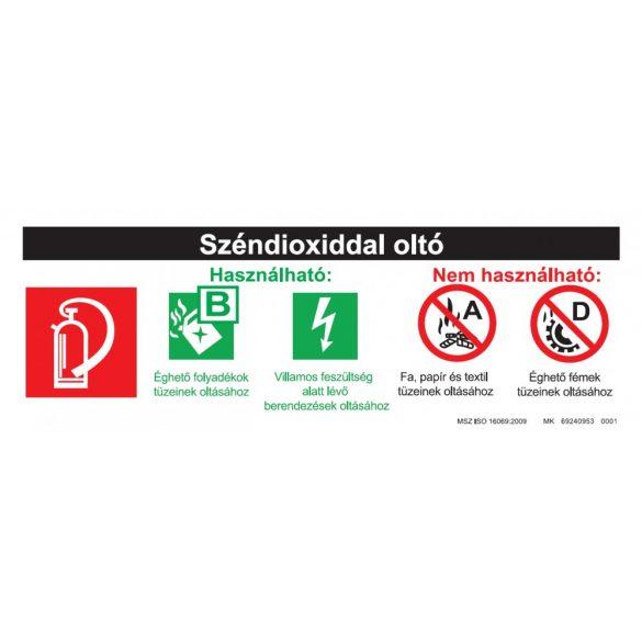Biztonsági adattábla - Szén-dioxiddal oltó
