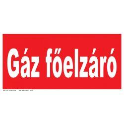 Gáz főelzáró