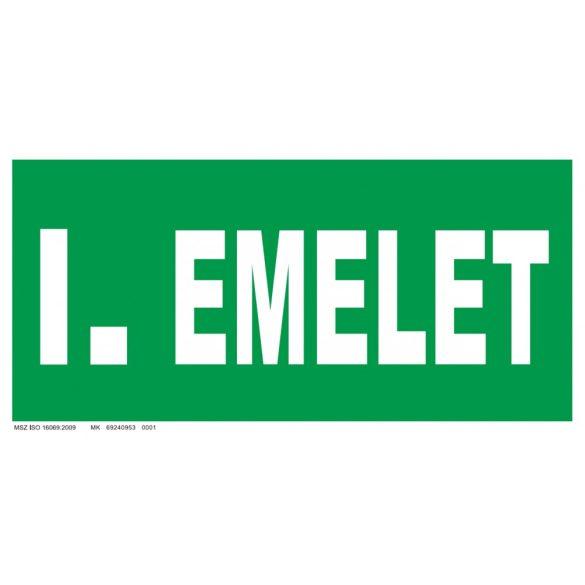 I. emelet