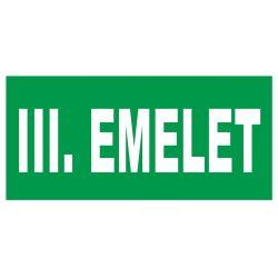 III. emelet