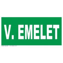 V. emelet
