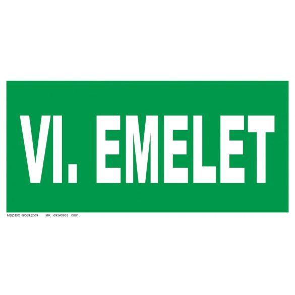 VI. emelet