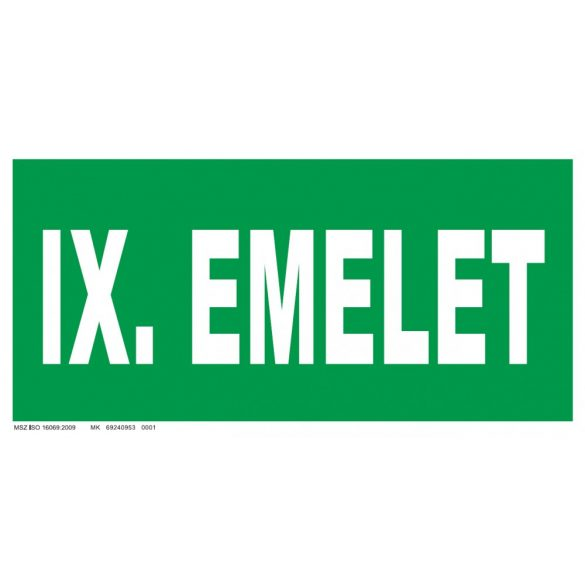 IX. emelet