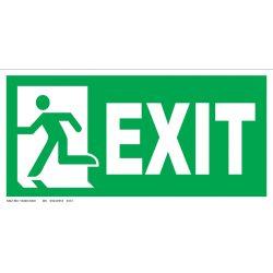 UV Exit - ajtó a baloldalon ISO
