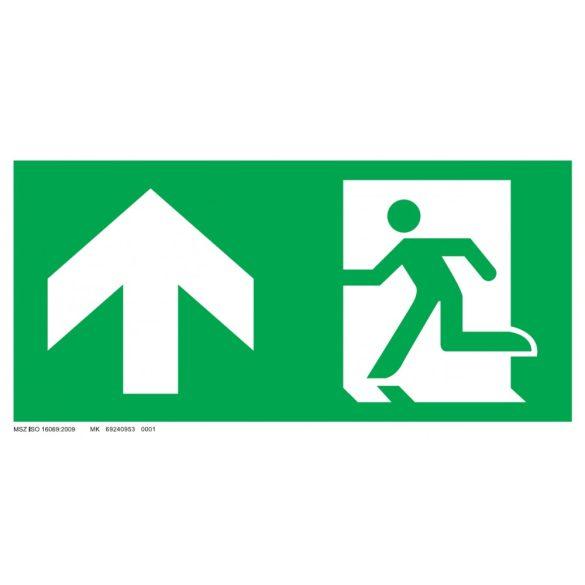 Menekülési út - fel, ajtó jobb oldalon