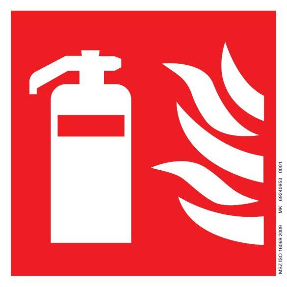Tűzoltó készülék piktogram