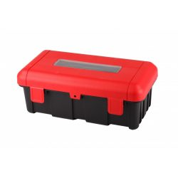 Tűzoltó készülék tartó műanyag box 6/9 kg-os porral oltóhoz 1 db rögzítőgyűrűvel - REGON