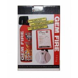 Háztartási tűzoltó biztonsági szett 750 ml-es habbal oltó tűzoltó készülékkel