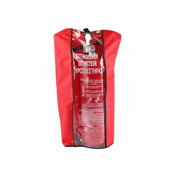 Tűzoltó készülék védőkabát 50kg-os készülékhez