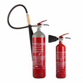 CO2-vel oltó tűzoltó készülékek- MOBIAK
