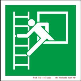 Egyéb, tűzvédelemmel kapcsolatos biztonsági jelek