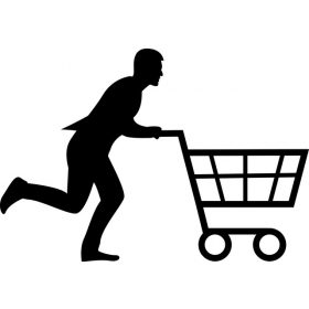 Bevásárló központokba